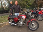 Mark W and his '69 Rocket 3