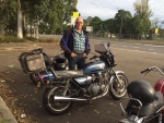Kees and his '81 Suzuki GS850