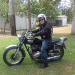 Ray W and his '72 Triumph Bonneville 750