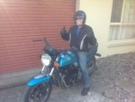 Ray W and his '84 Suzuki GS X 1100